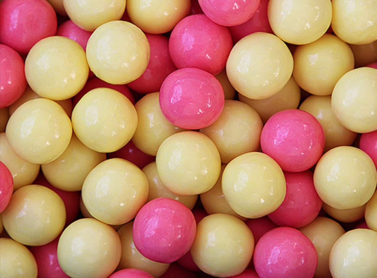 Kicked up Lemonade Gumballs 23 mm