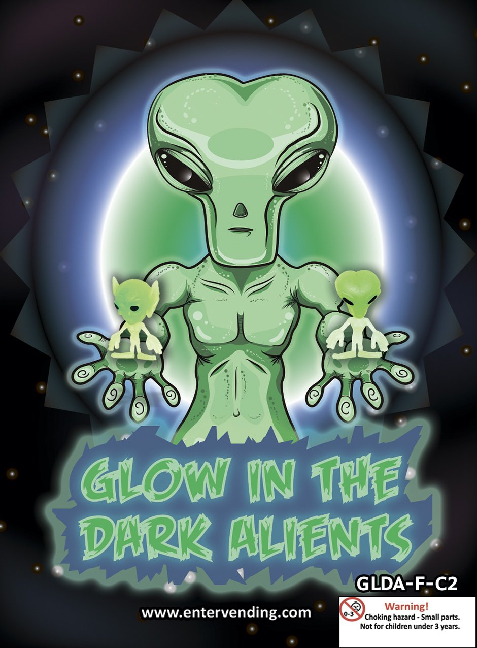 Glow in the Dark Aliens  Mix 2