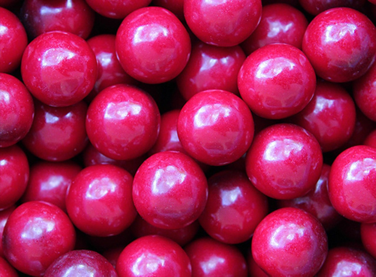 Black Cherry Gumballs 23 mm