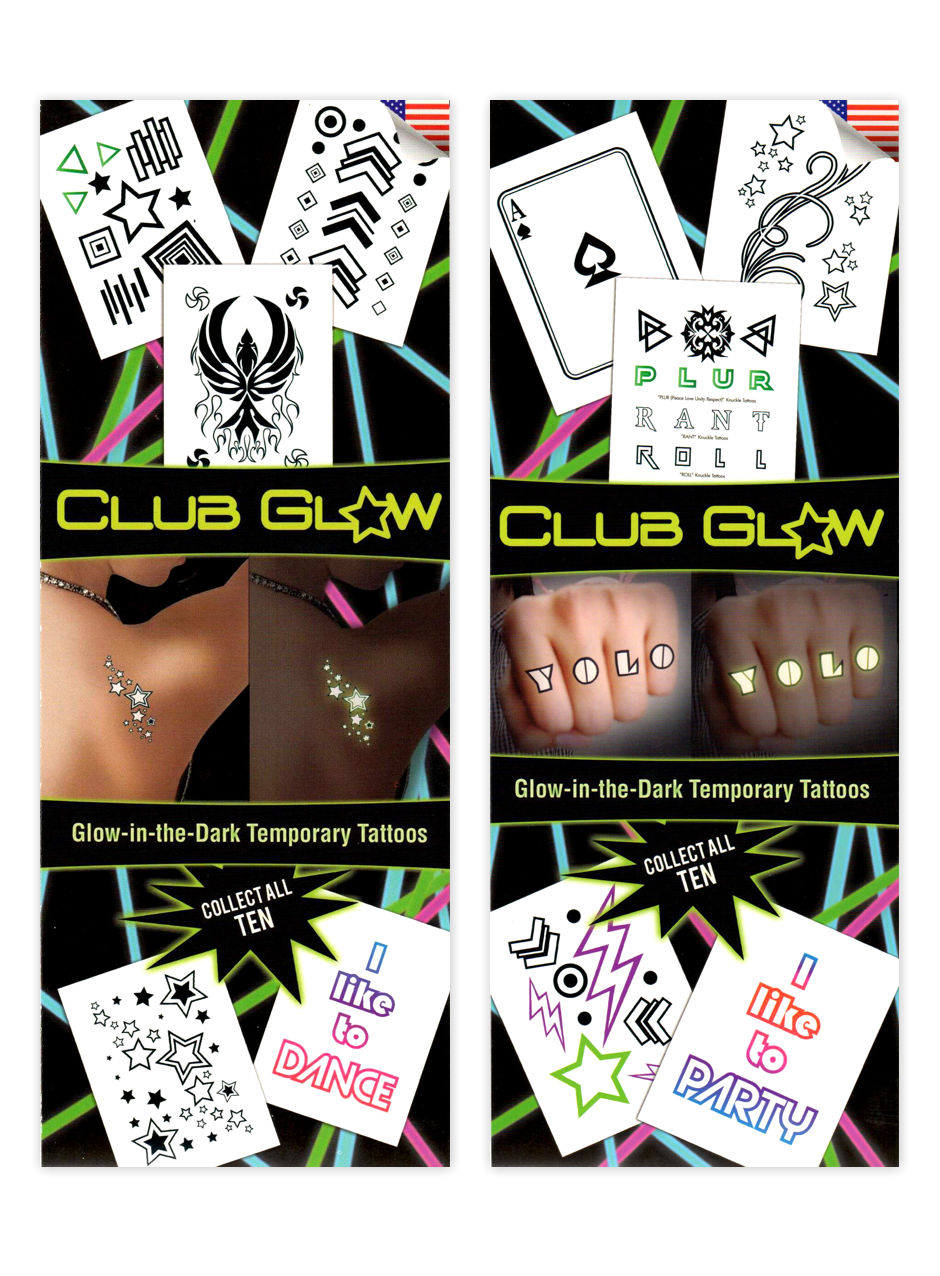 Club Glow Tattoos