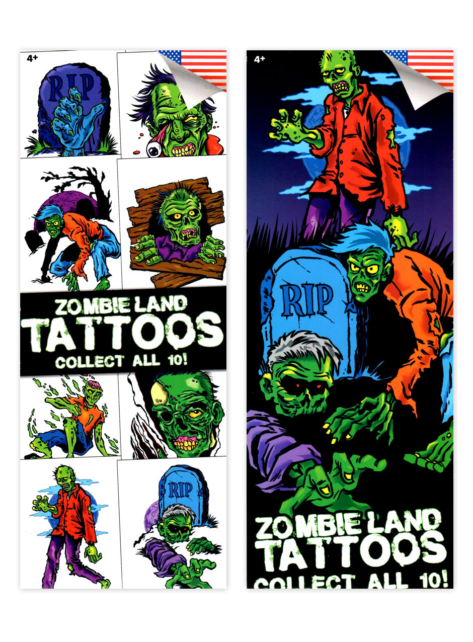 Zombieland Tattoos (display)
