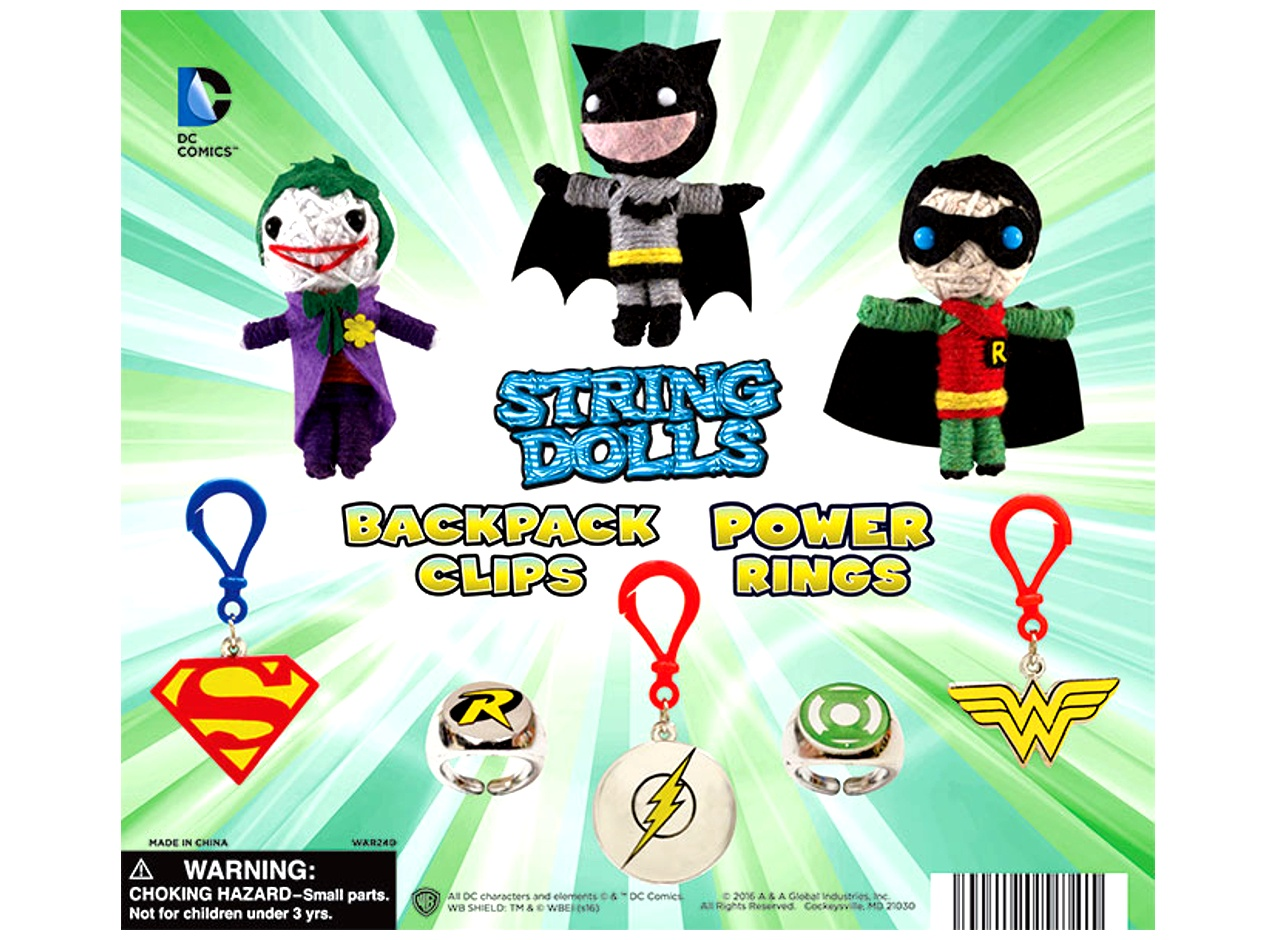 DC Batman String Toy Collection 2