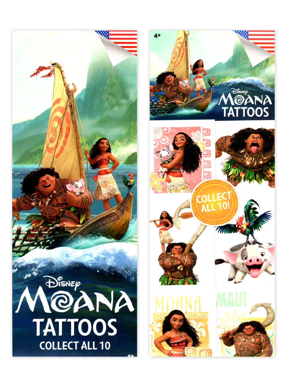 Disney's Moana Tattoos