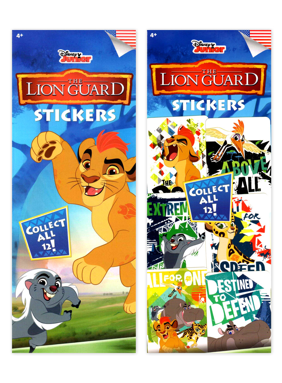 Disney Lion Guard Stickers