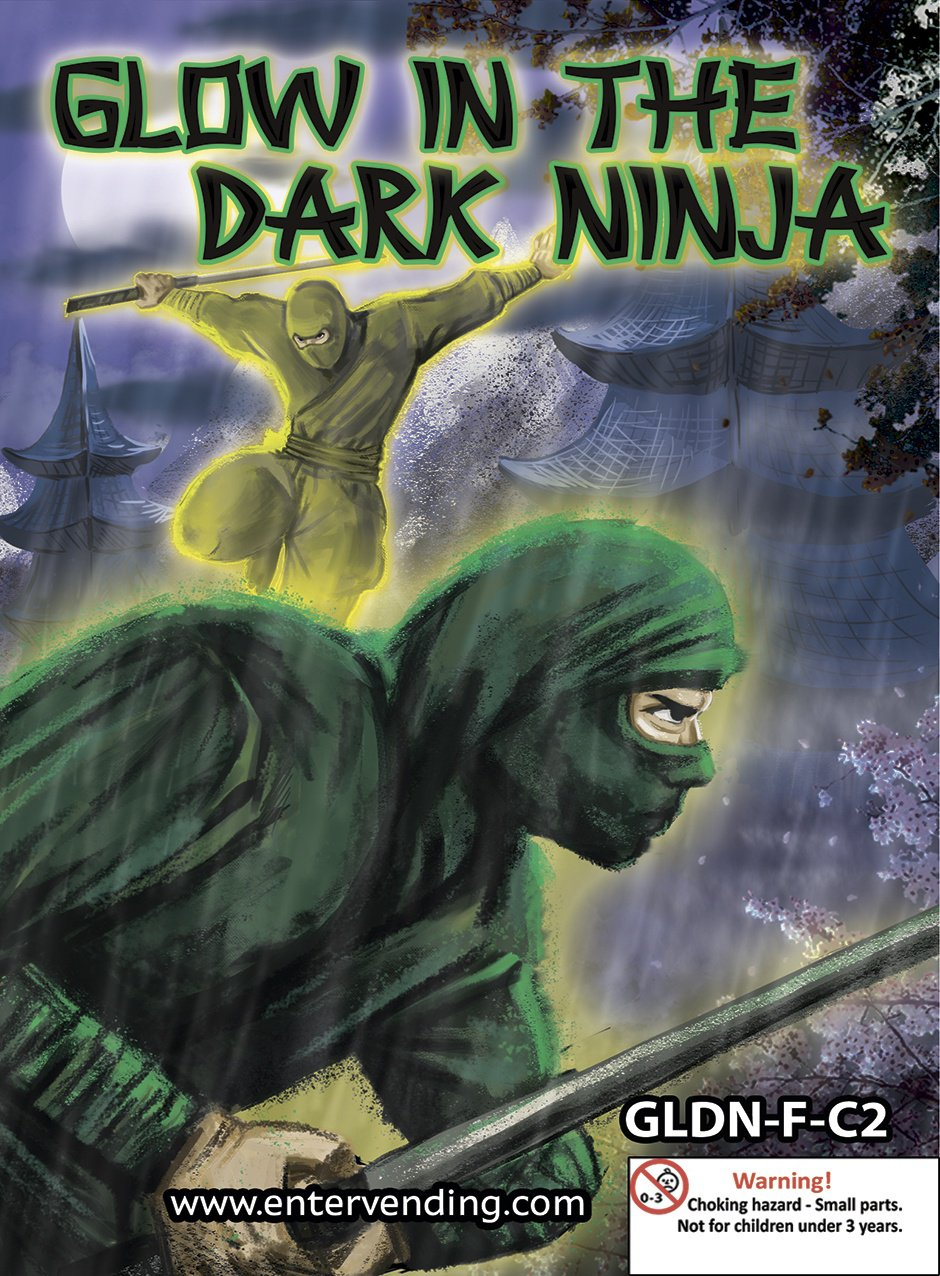Glow in the Dark Ninja Mix 2
