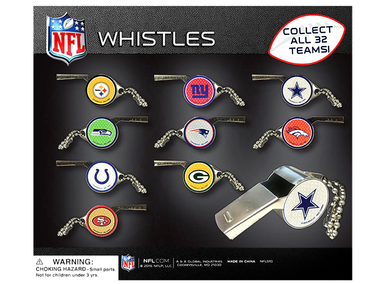 NFL Team Whistles 2
