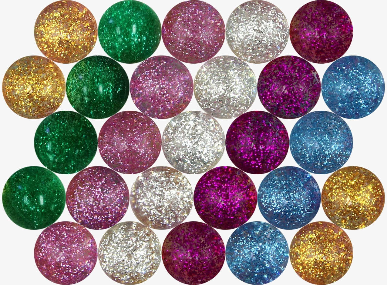 Glitter Hi-Bounce 25 mm