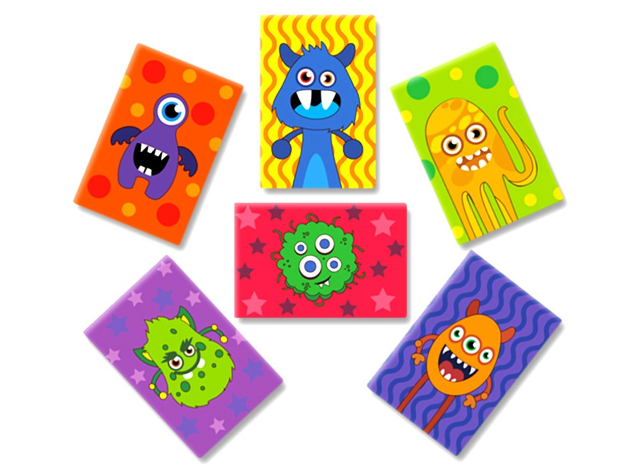 Monsters Magnets Mix 1