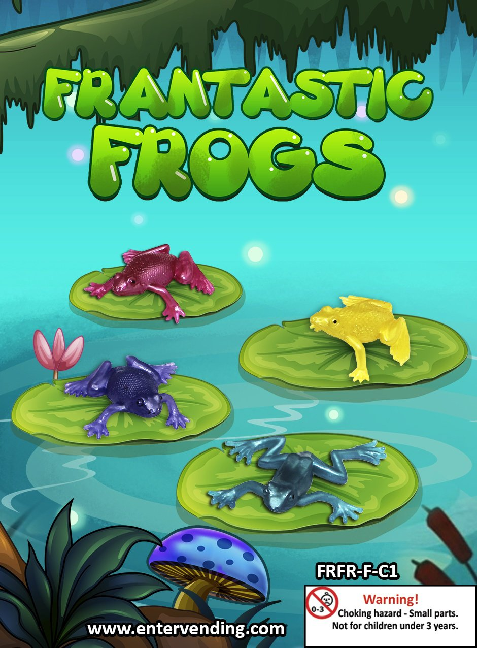 Frantastic Frogs (display)