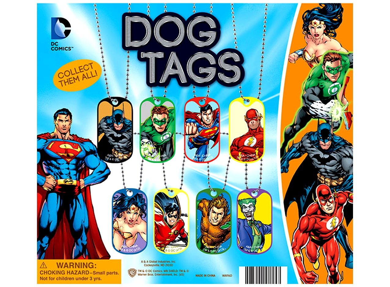 DC Comics Dog Tags 2