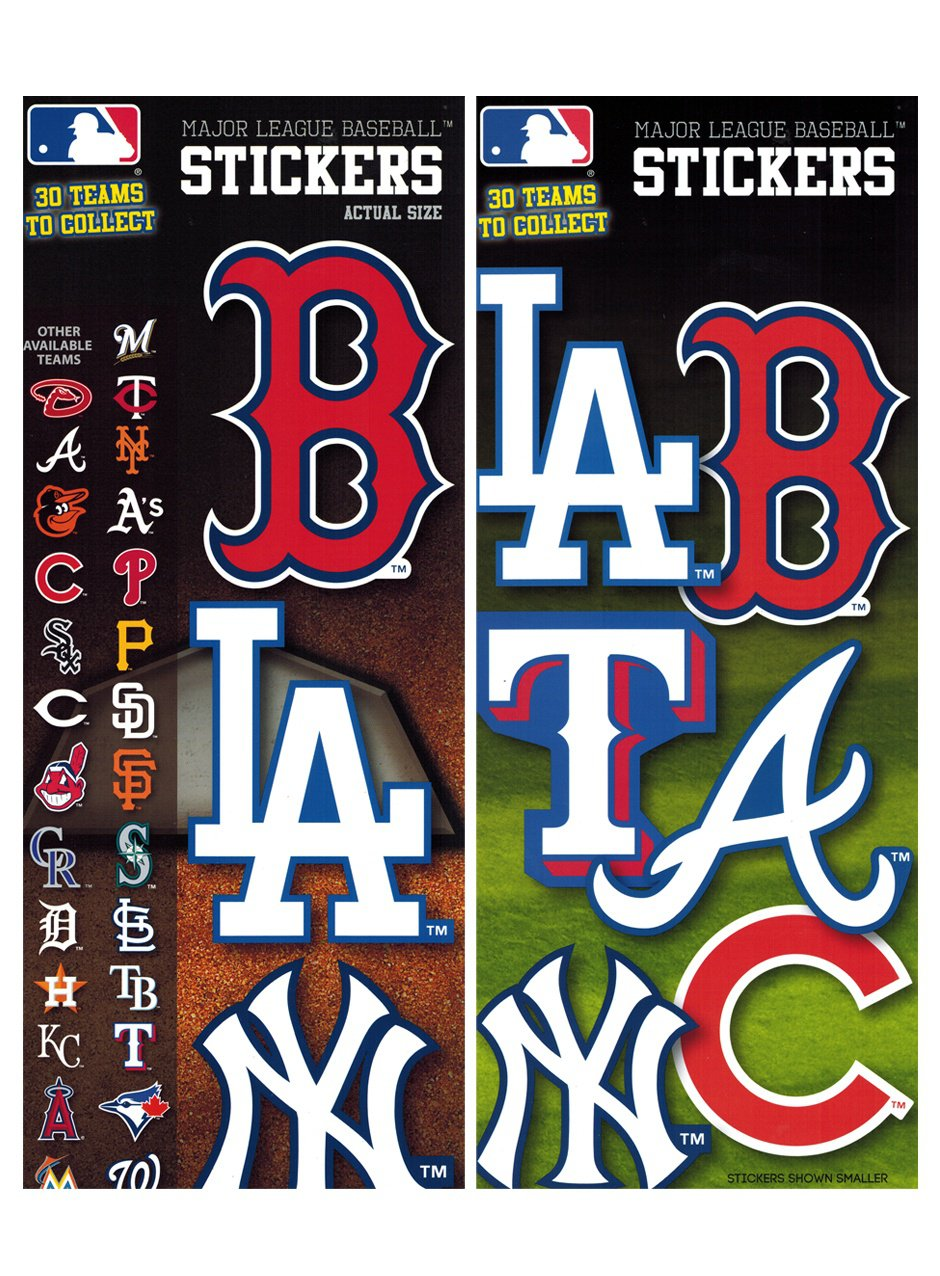 Stickers MLB Baseball Series 2