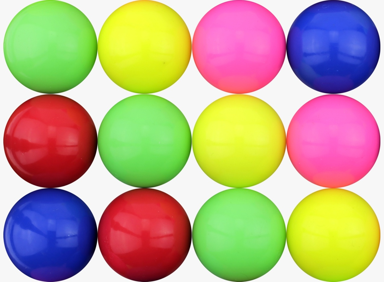 Colored Balls 45 mm