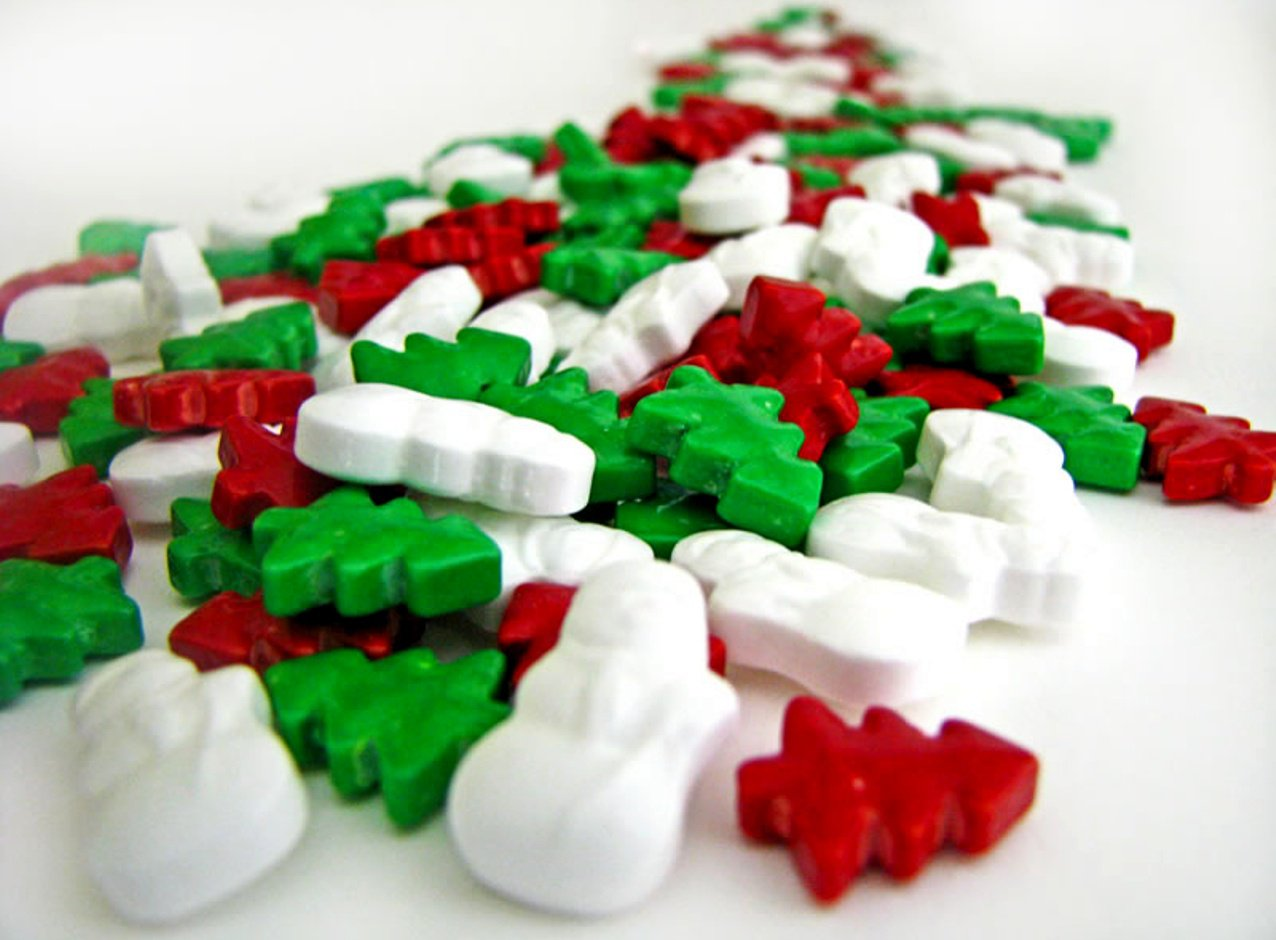 Candy Christmas-Tree-and-Snowman