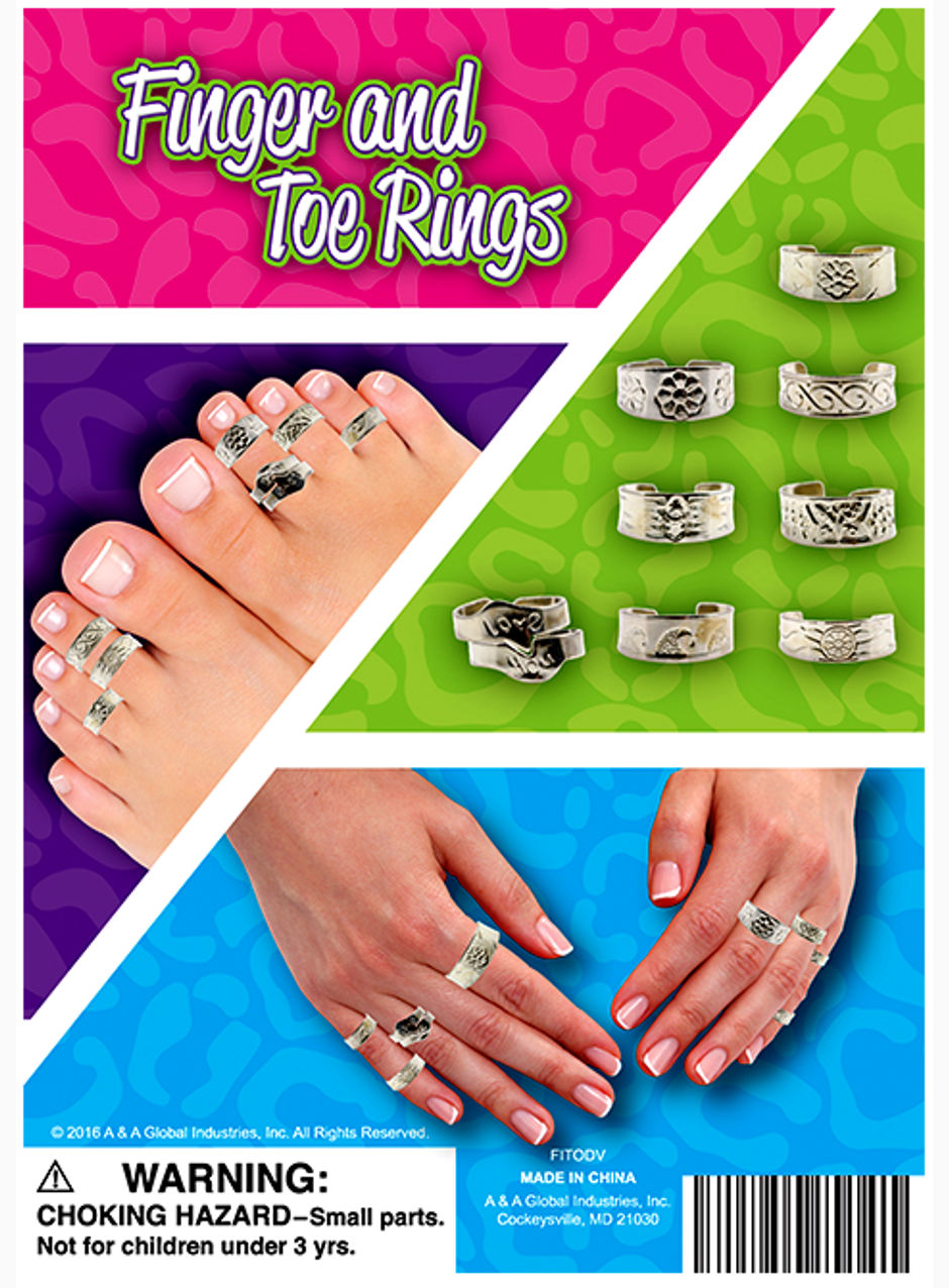 Finger and Toe Rings 1