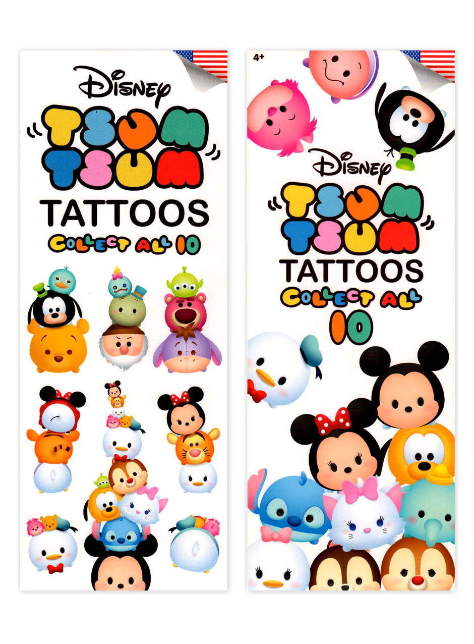 Disney's Tsum-Tsum Tattoos (display)