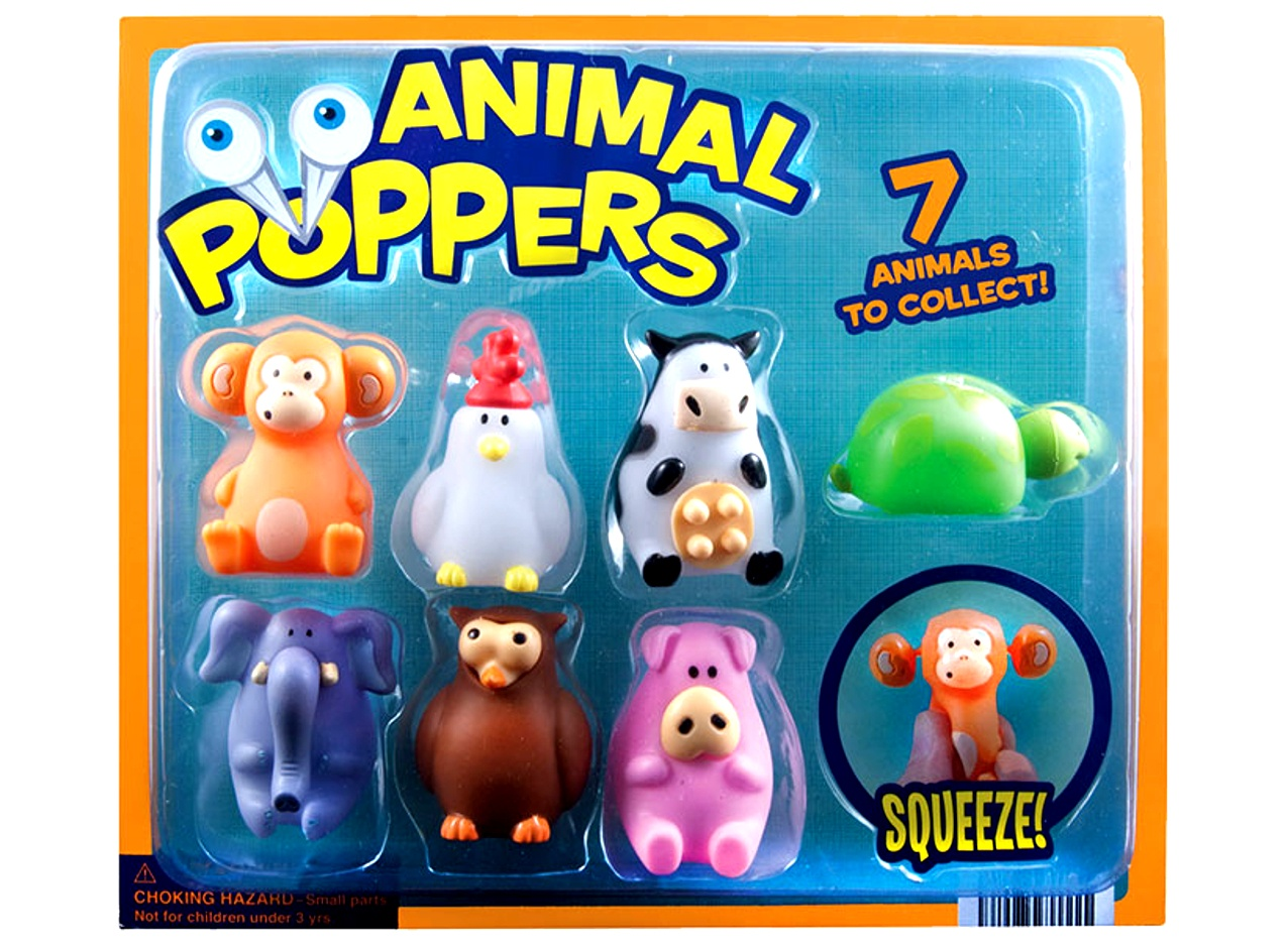 Animal Poppers 2''