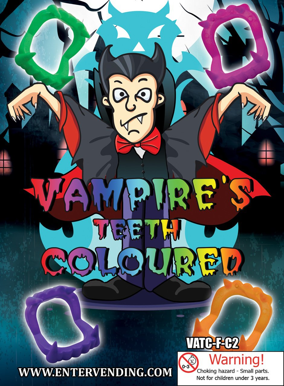 Vampire's Teeth Coloured (display)