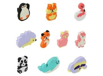 Cute Animal Erasers vending supply
