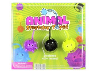 Animal Yoyo Balls (display)