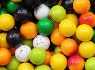 Fruit Stand Gumballs 23 mm
