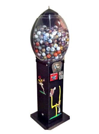 Football A Roo gumball machine