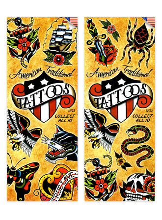 American Traditional Tattoos 1 (display)