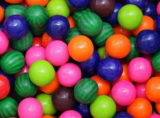 Fruit Mix Gumballs 23 mm