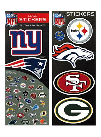 Stickers Logo NFL (display)