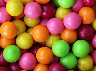 Fantastic Fruit Gumballs 25 mm