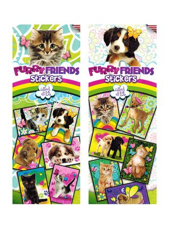 Furry Friends Stickers