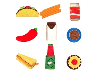 Cantina Puzzle Erasers vending supply