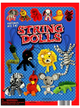"Animal String Dolls 2"" vending supply"