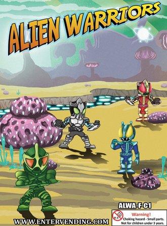 "Alien Warriors Mix 1"" vending supply"