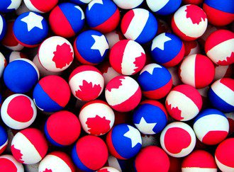Patriotic Mix 27 mm