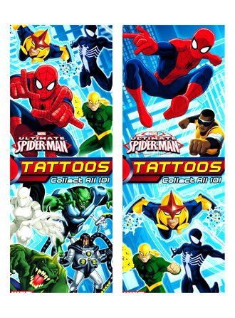 Ultimate Spider-Man Tattoo (Series #1)