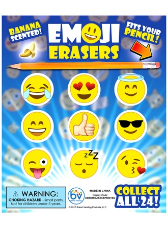 Emoji Eraserz in 1