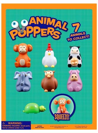 Animal Poppers & Mini-malz Mix 2   vending supply