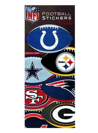 Stickers NFL Football (display)