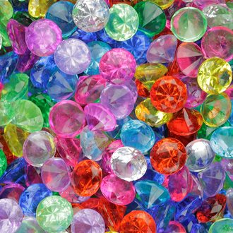 Crystals Round (8 colors) vending supply