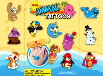 "Animal Tattoos 1"" vending supply"