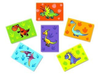 """Dino Magnets Mix 1"""" vending supply"""