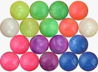 Pearly Colored Hi-Bounce Balls 32 mm