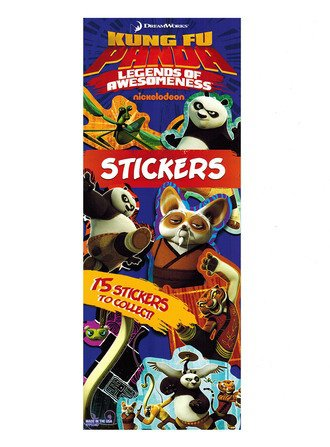 Stickers Kung Fu Panda Loa (display)