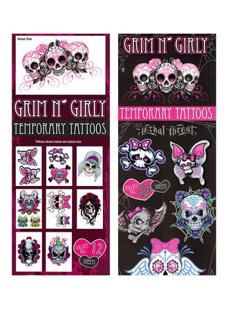 Tattoos Grim & Girly (display)