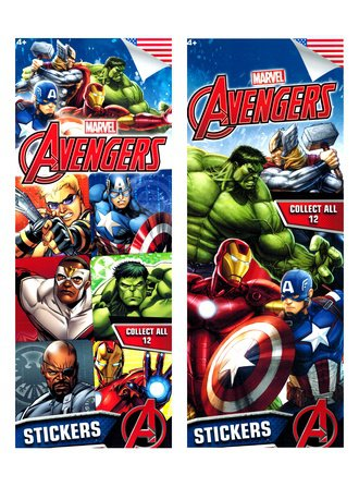 Stickers Marvel Avangers Assemble (Series #3)