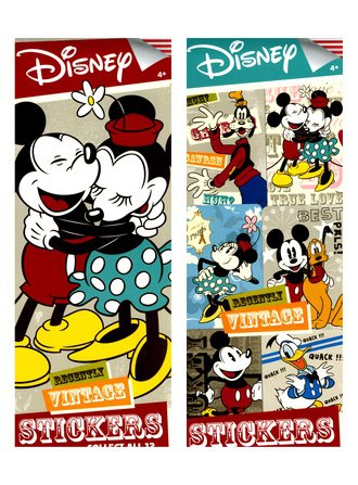 Stickers Disney Recently Vintage (Series #1)