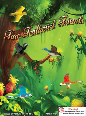 Fine Feathered Friends Mix 2