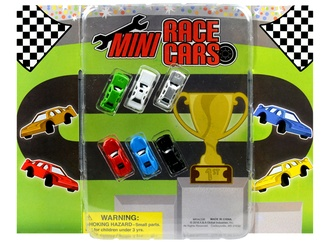 Mini Race Cars in 1