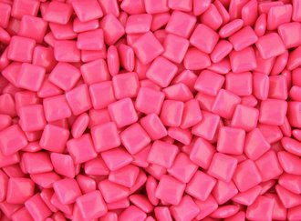 Chicle Pink Chewing Gum 9900 CT