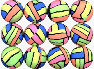 Color Block Balls 45 mm